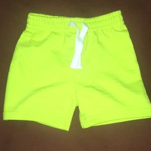 Other - Neon Green Shorts